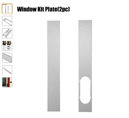 placa de kit de ventana ajustable para manguera
