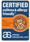 deshumidificador Apto para alérgicos