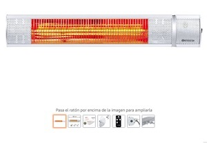 Calefactor de infrarrojos Trotec ir2050