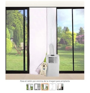 cubierta puerta aire acondicionado