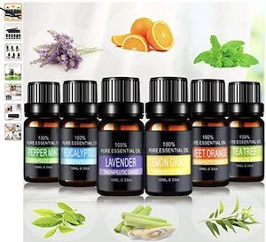 aceites esenciales para humidificador
